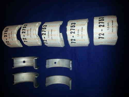 Main Bearings Mercedes-Benz OM642 Diesel 2004-